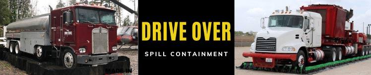 Drive Through Containment Berm